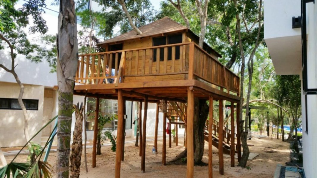 Construcción de Cabañas Ecológicas