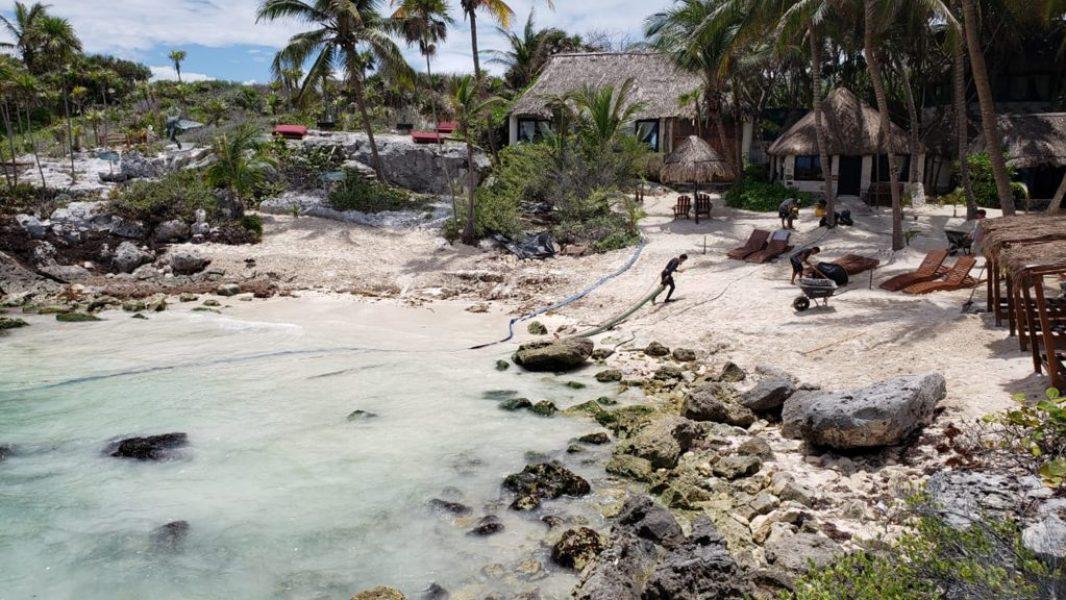 Recuperación de Playas