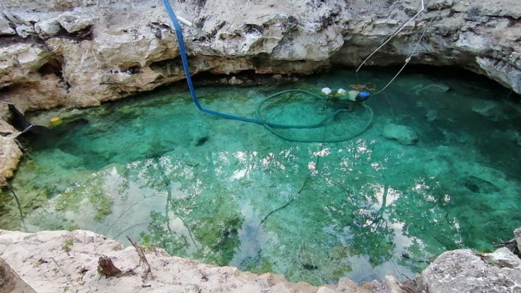 Dragados en Cenotes y Playas